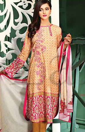 11B - Lala Classic Cotton Embroidery Vol 2 - YourLibaas  - 1