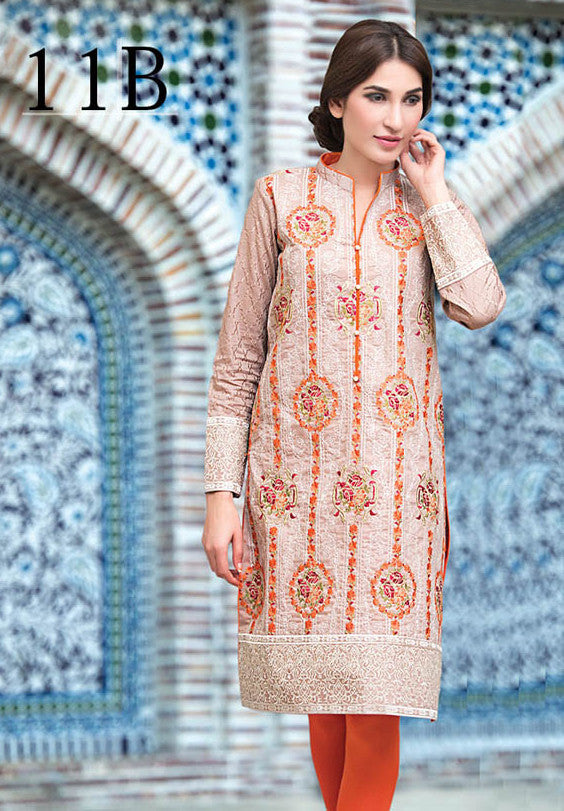 Subhata Embroidered Lawn Tunic Collection - 11B - YourLibaas  - 1