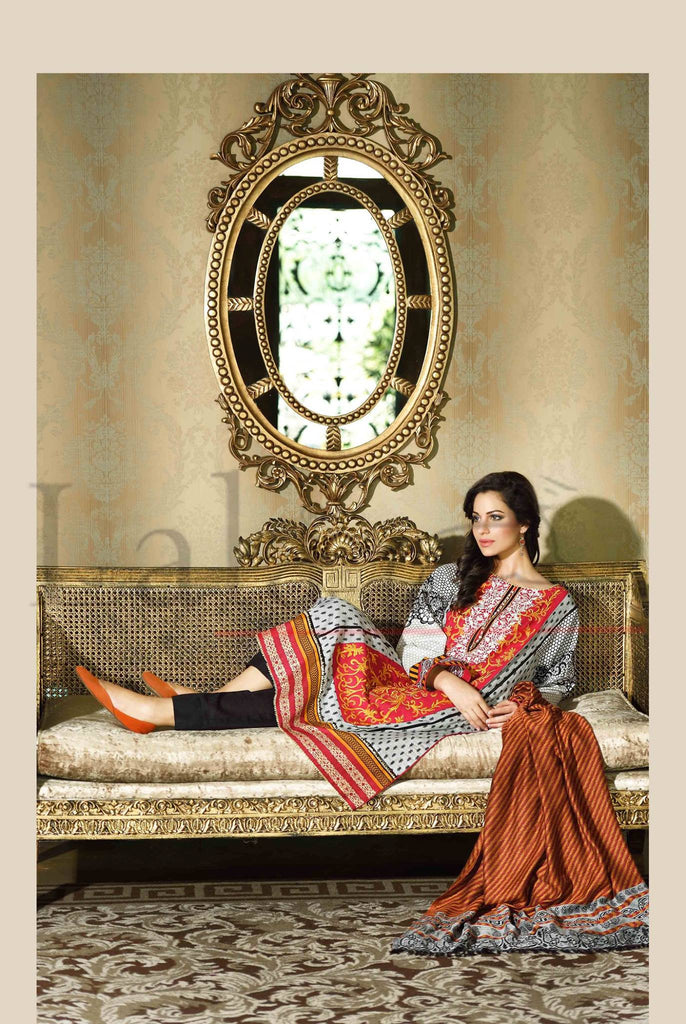Lala Brocade Winter Collection With Woolen Shawl - BR11 - YourLibaas