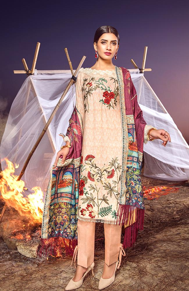 Al Zohaib Wintry Breeze Collection 2020 – WB20-12