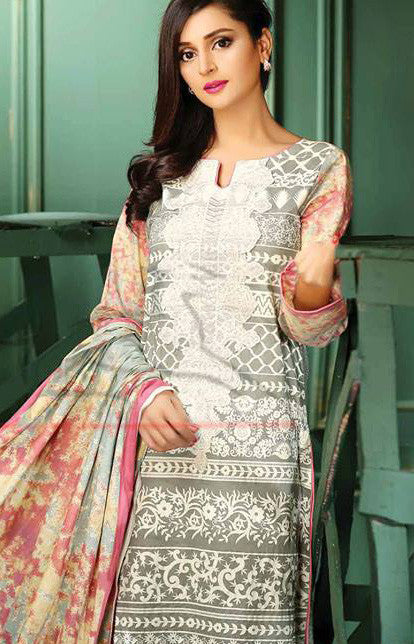 12B - Lala Classic Cotton Embroidery Vol 2 - YourLibaas  - 1