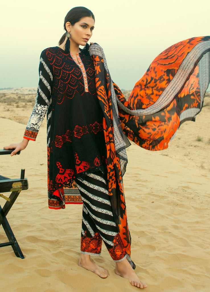 Sana Safinaz Spring/Summer Lawn Collection 2016 – 12B - YourLibaas  - 1