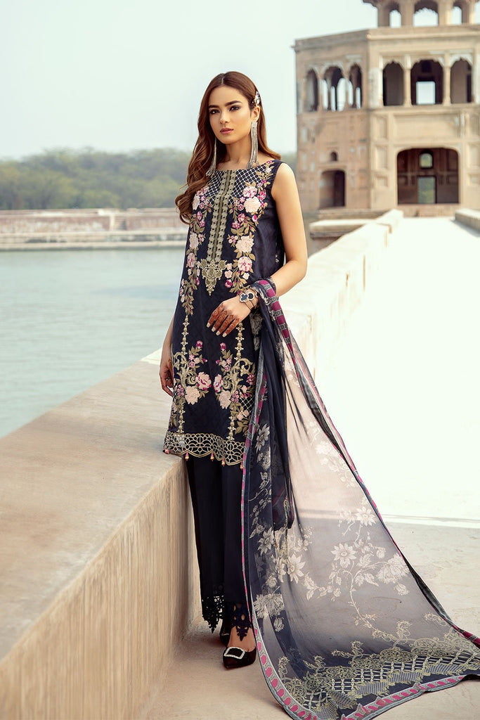 Ramsha Luxury Lawn Collection 2020 – C-202