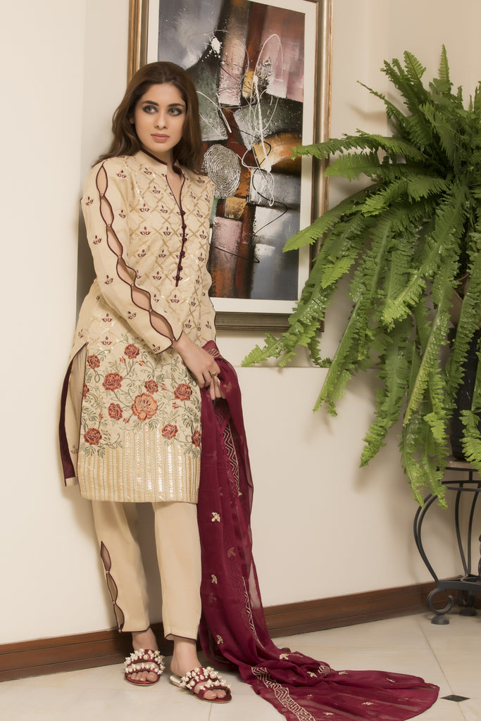 Maira Ahsan Exclusive Designer Lawn Collection – MAEDC-12