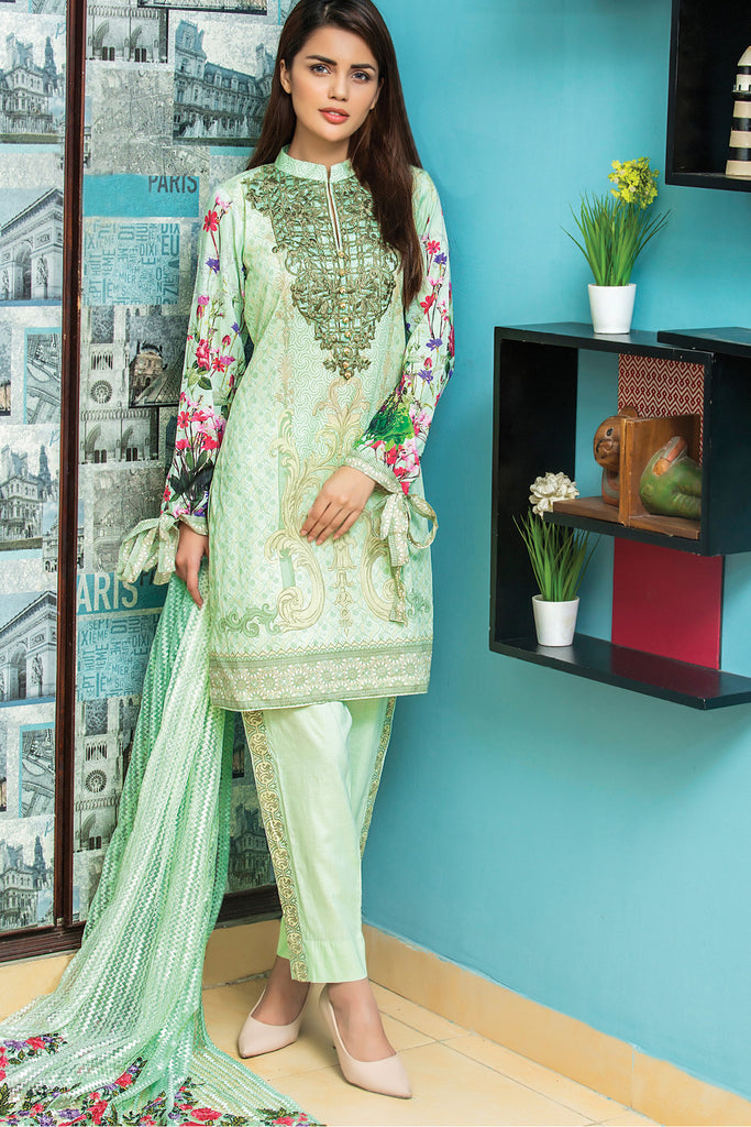 Sahil Designer Embroidered Lawn Collection Vol-9 – 12B