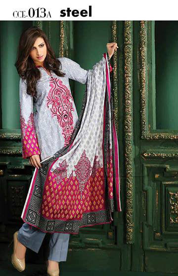 13A - Lala Classic Cotton Embroidery Vol 2 - YourLibaas  - 1