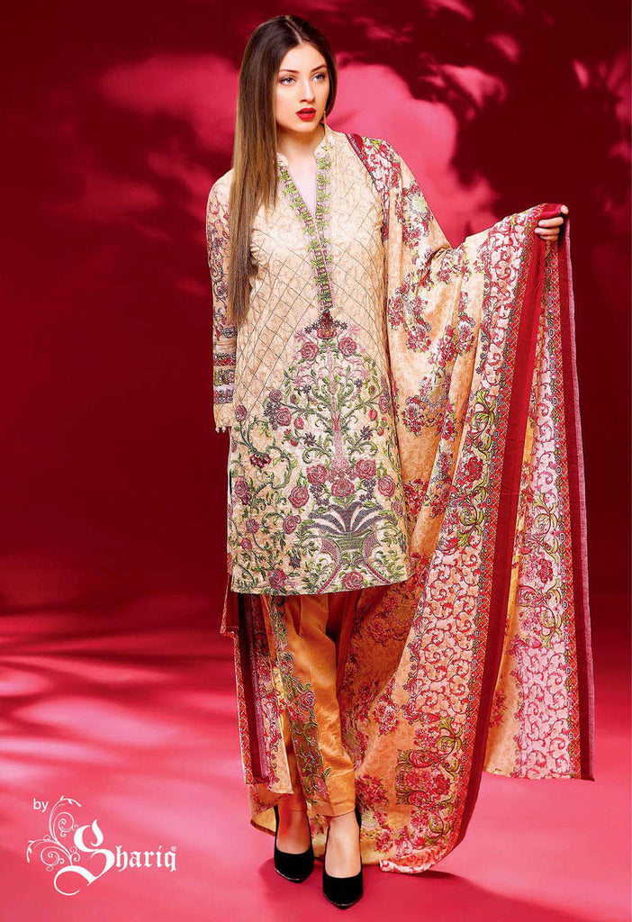 Ayesha Chottani Winter Collection – 13A - YourLibaas  - 1