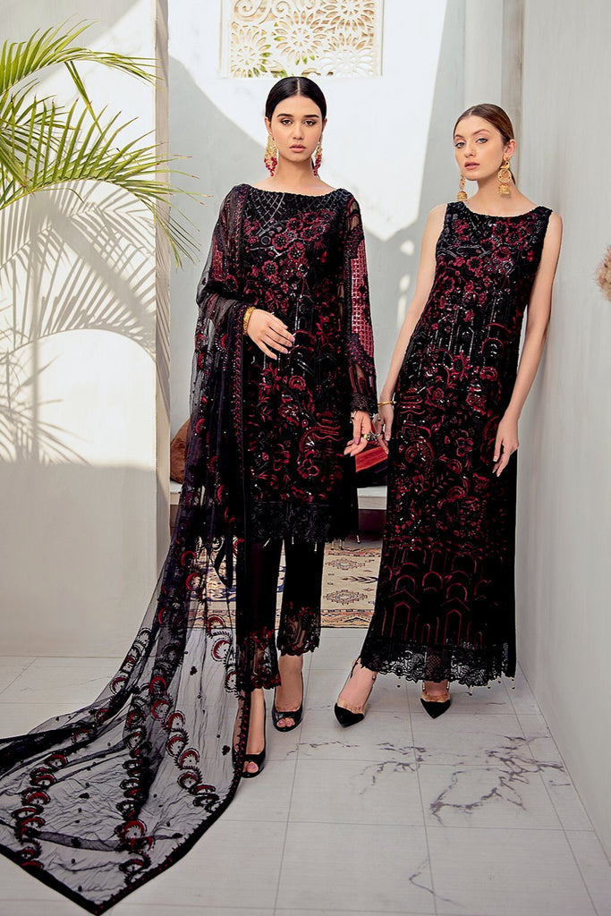 Ramsha Rangoon Chiffon Collection 2020 – D-601