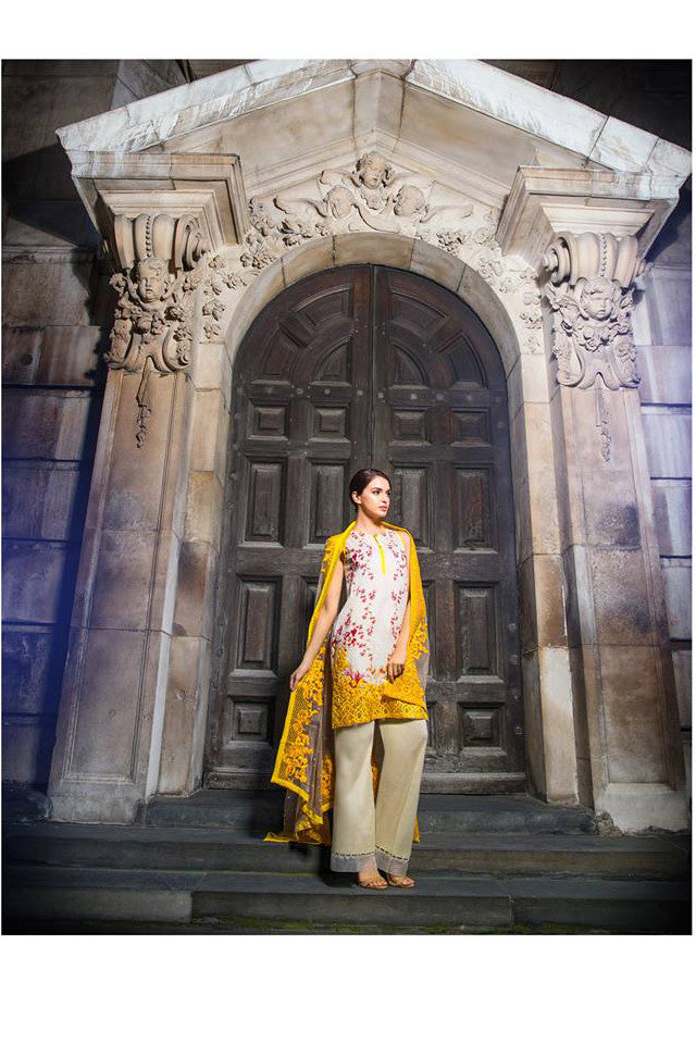 Sobia Nazir Lawn Collection '16 – 13B - YourLibaas