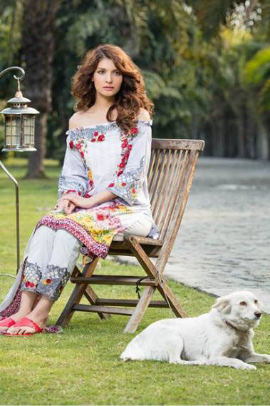 Dhanak Embroidered Lawn Collection by Rang Rasiya – 144B