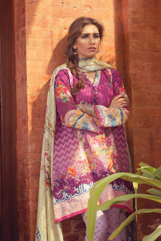 Zara Shahjahan Lawn Collection 2016 – Ghulab Dozi - YourLibaas  - 1