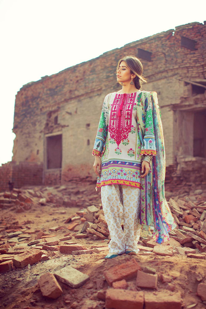 Zara Shahjahan Lawn Collection 2016 – Chitor - YourLibaas  - 1