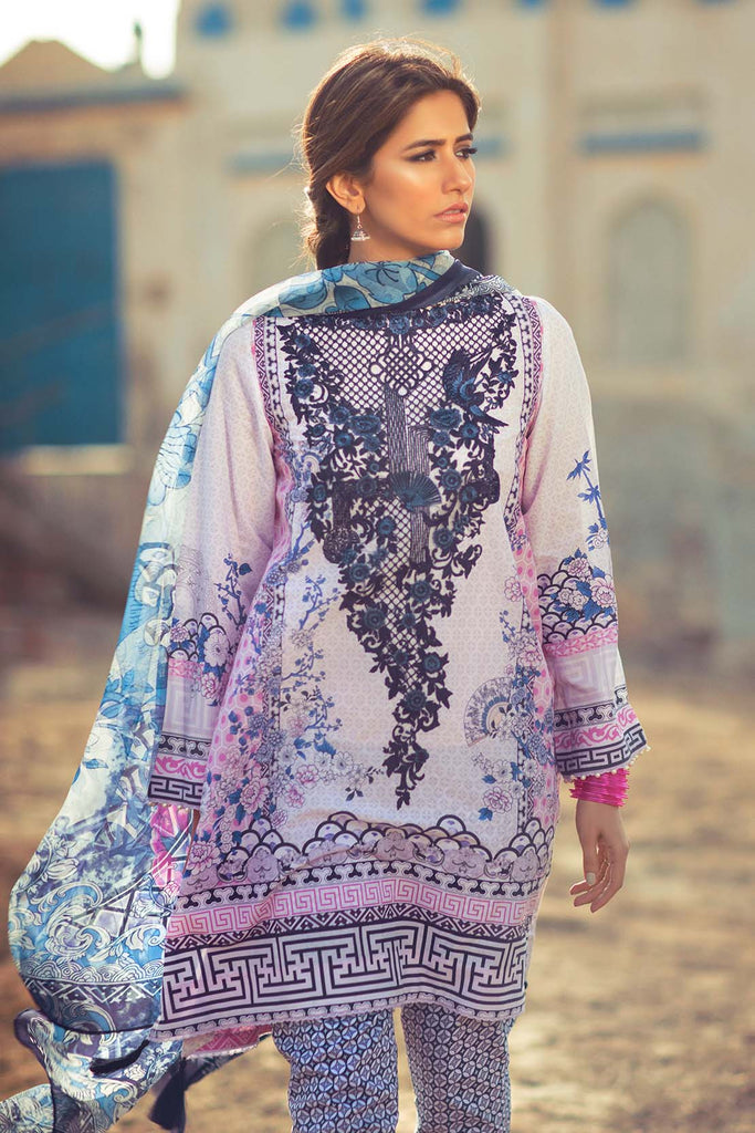 Zara Shahjahan Lawn Collection 2016 – Mah Jabeen - YourLibaas  - 1