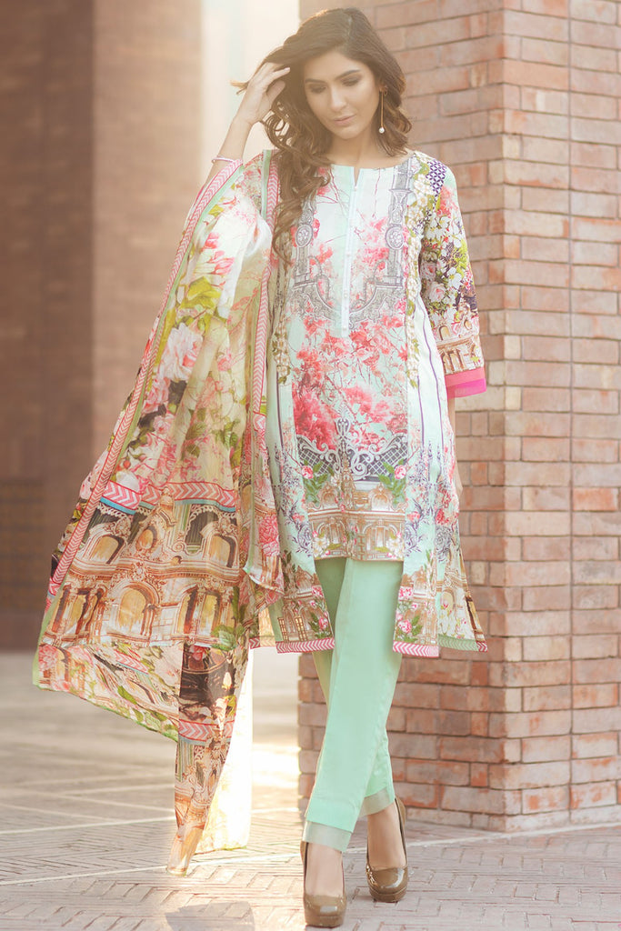 Firdous Spring/Summer Lawn Collection 2018 – EXC 18-15