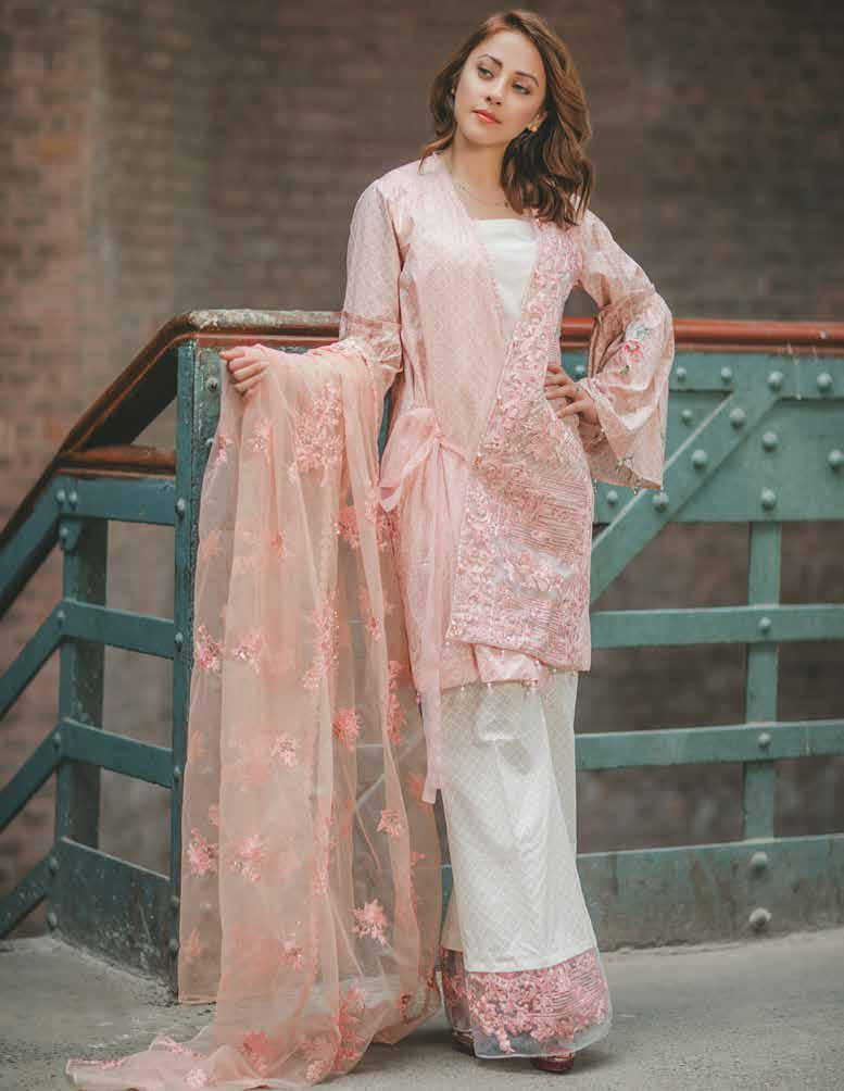 c9ea6121ac Carnation Luxury Lawn Collection by Rang Rasiya – Design 150A ...