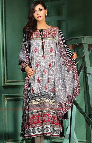 15A - Lala Classic Cotton Embroidery Vol 2 - YourLibaas  - 1