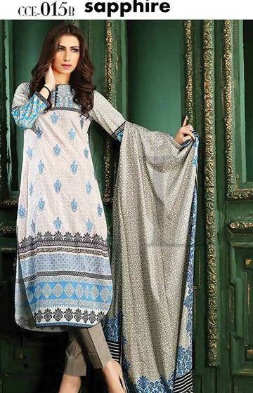 15B - Lala Classic Cotton Embroidery Vol 2 - YourLibaas  - 1
