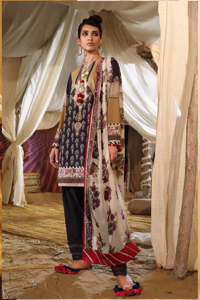 Sana Safinaz Mahay Lawn Collection 2019 – 15B