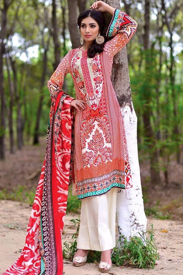 Noor Jahan Linen Collection - 15 - YourLibaas  - 1