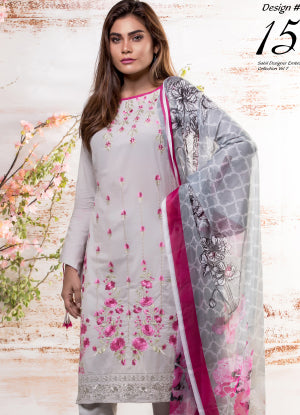 Sahil Designer Embroidered Eid Collection 2018 Vol 7 – SH7-15