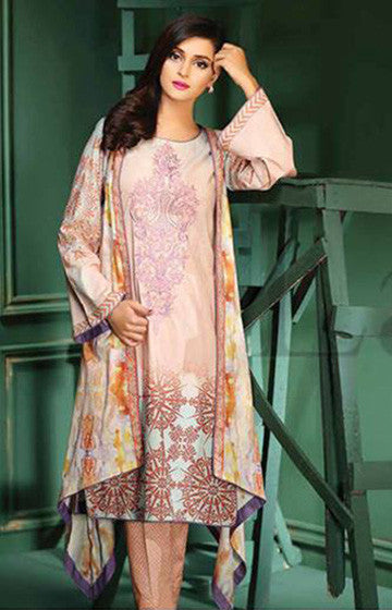 16A - Lala Classic Cotton Embroidery Vol 2 - YourLibaas  - 1