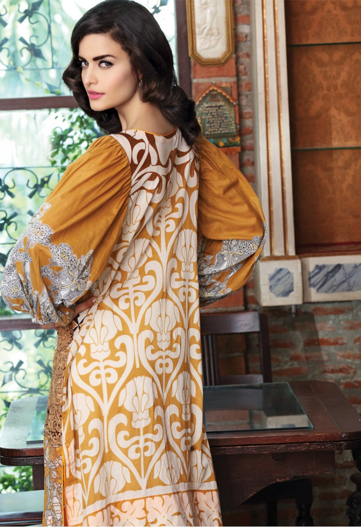 Firdous Embroidered Lawn Kurtis 2016 – 5A - YourLibaas  - 1