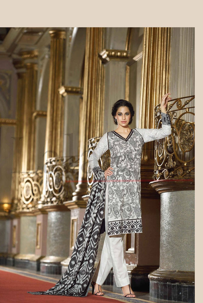 Lala Brocade Winter Collection With Woolen Shawl - 16 - YourLibaas