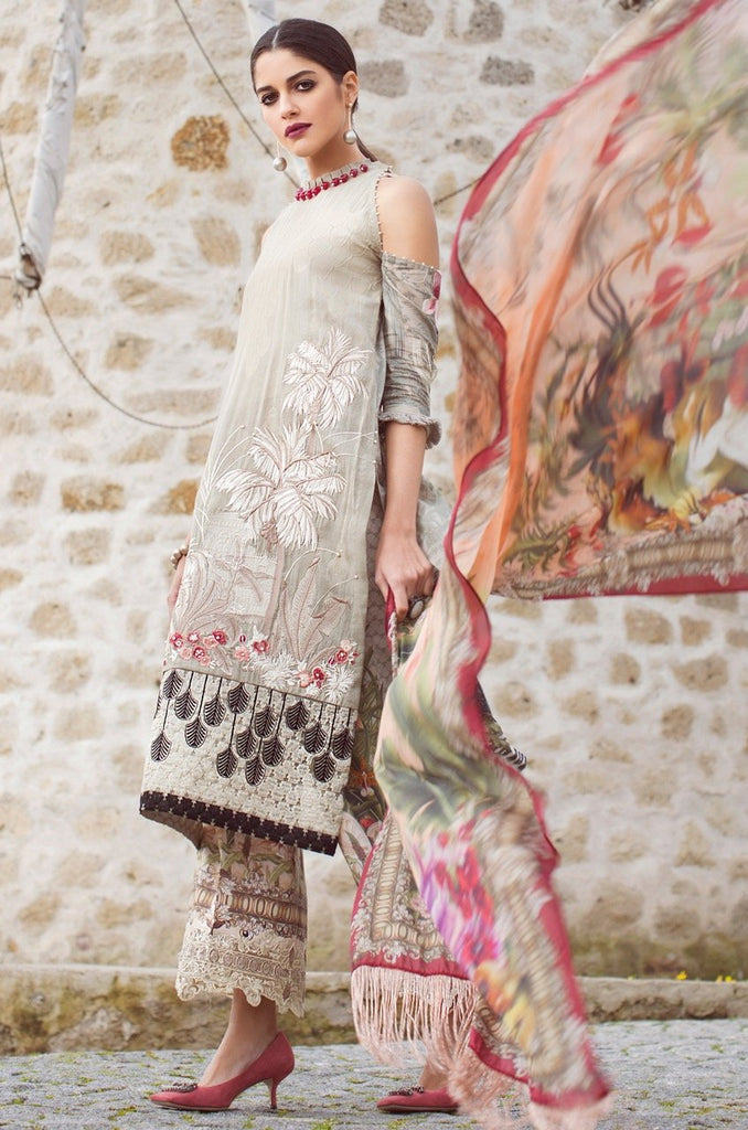 Shiza Hassan Luxury Lawn Collection '18 – Imperial - 3A