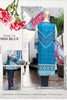 HZ Textiles Diamond Classic Lawn Collection Vol-2 – Design 16 Mid Blue
