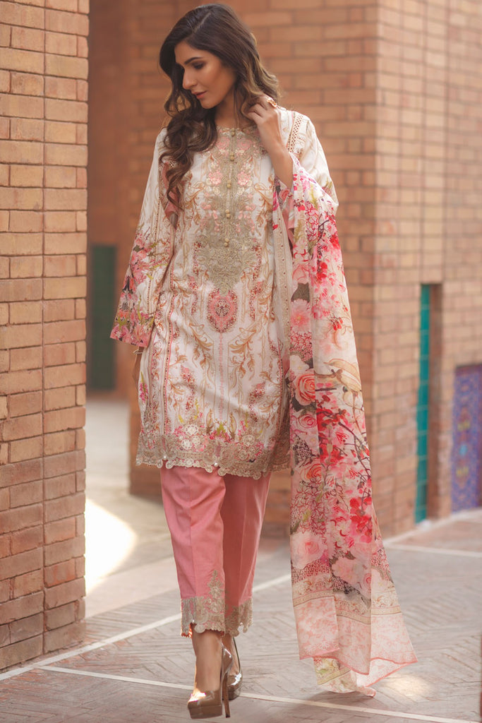 Firdous Spring/Summer Lawn Collection 2018 – EXC 18-17