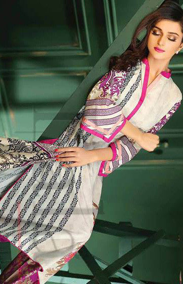 17B - Lala Classic Cotton Embroidery Vol 2 - YourLibaas  - 1