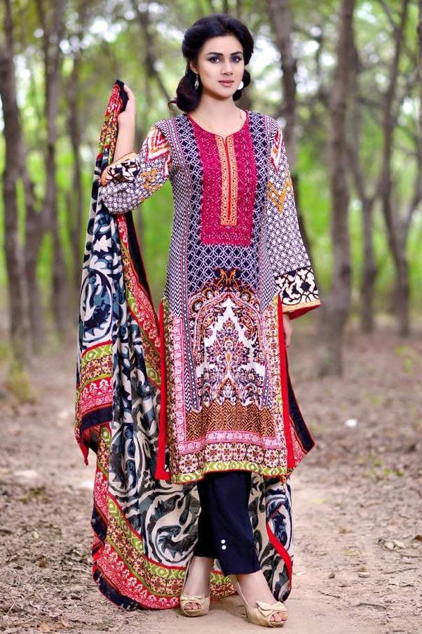 Noor Jahan Linen Collection - 17 - YourLibaas  - 1
