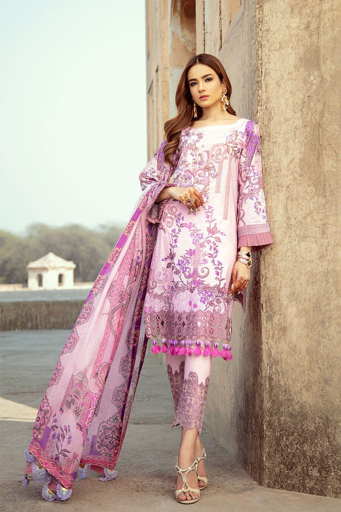 Ramsha Luxury Lawn Collection 2020 – C-209