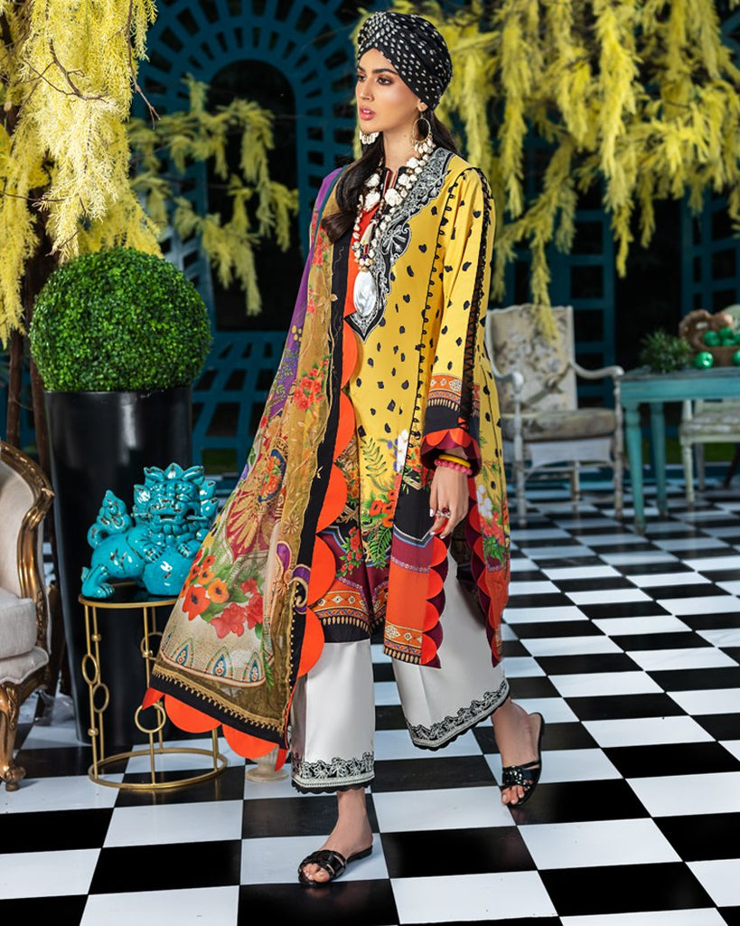 Zaha by Khadijah Shah – Spring/Summer Lawn Collection 2020 – MIRIANA (ZL-03)