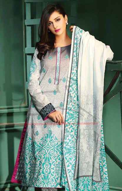 18B - Lala Classic Cotton Embroidery Vol 2 - YourLibaas  - 1