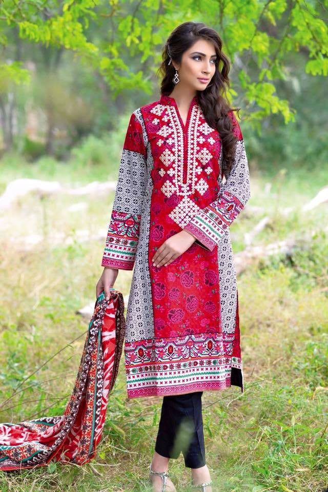 Noor Jahan Linen Collection - 18 - YourLibaas  - 1