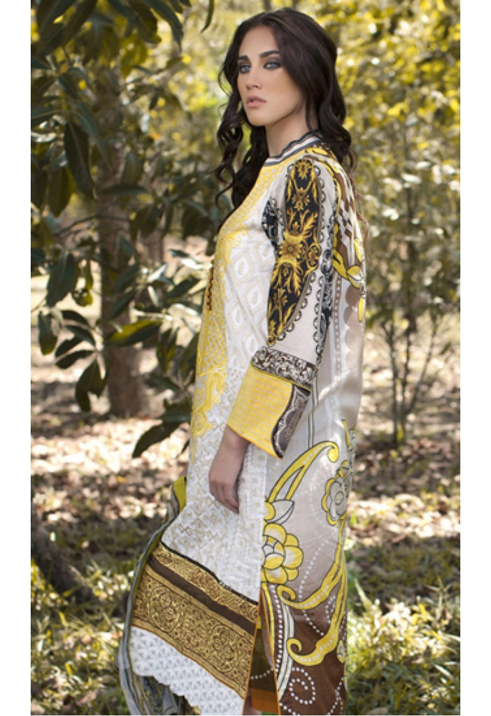 1A - Firdous Carnival Embroidered Collection 2015 - YourLibaas