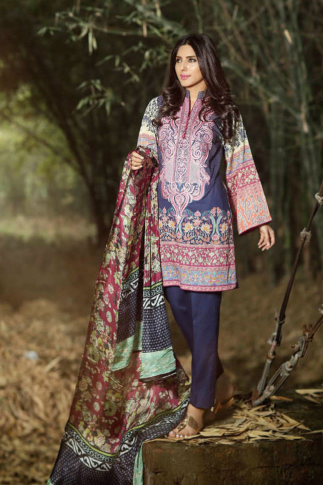 ZarQash Luxury Lawn Spring/Summer - 1B - YourLibaas  - 1