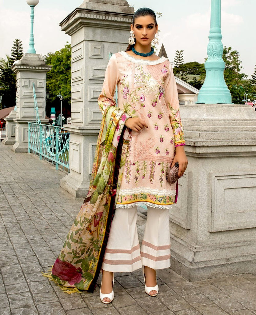 Ittehad Sarang Lawn Collection 2020 – LILLIAN