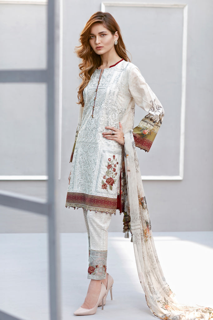 Baroque Eid Lawn Collection 2017 – Dream Theatre