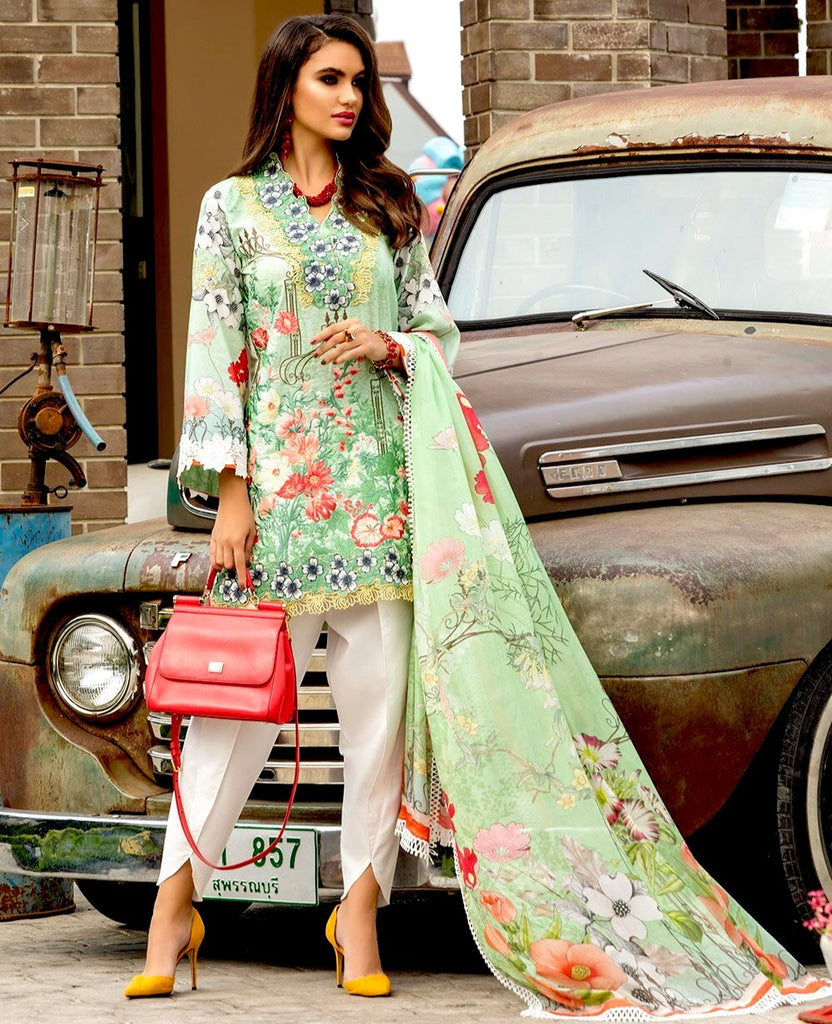 Ittehad Sarang Lawn Collection 2020 – ANEMONE