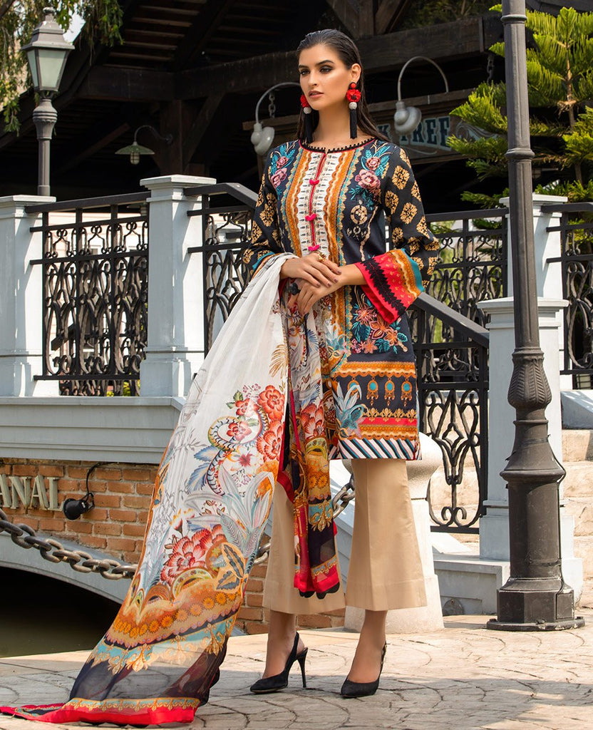 Ittehad Sarang Lawn Collection 2020 – HEATHER