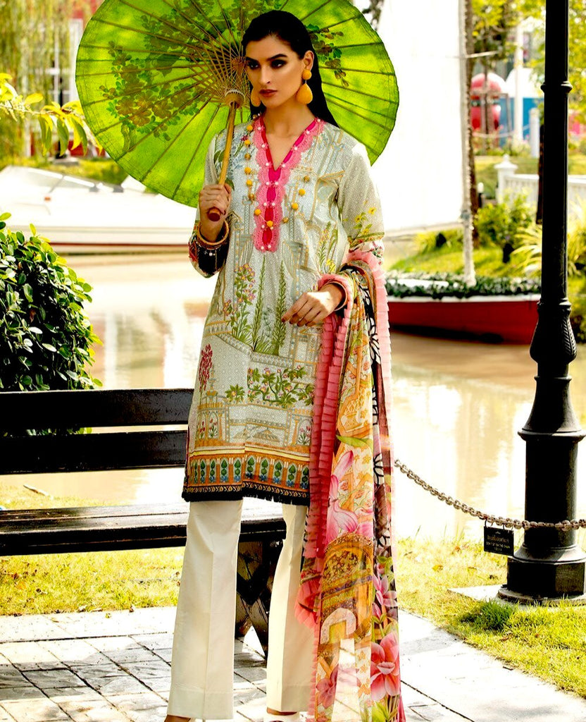 Ittehad Sarang Lawn Collection 2020 – LINNEA