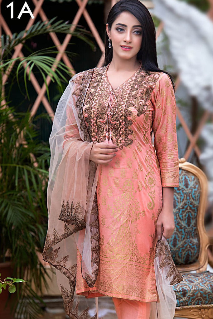 Kalyan Exclusive Eid Collection '16 – 1A - YourLibaas  - 1