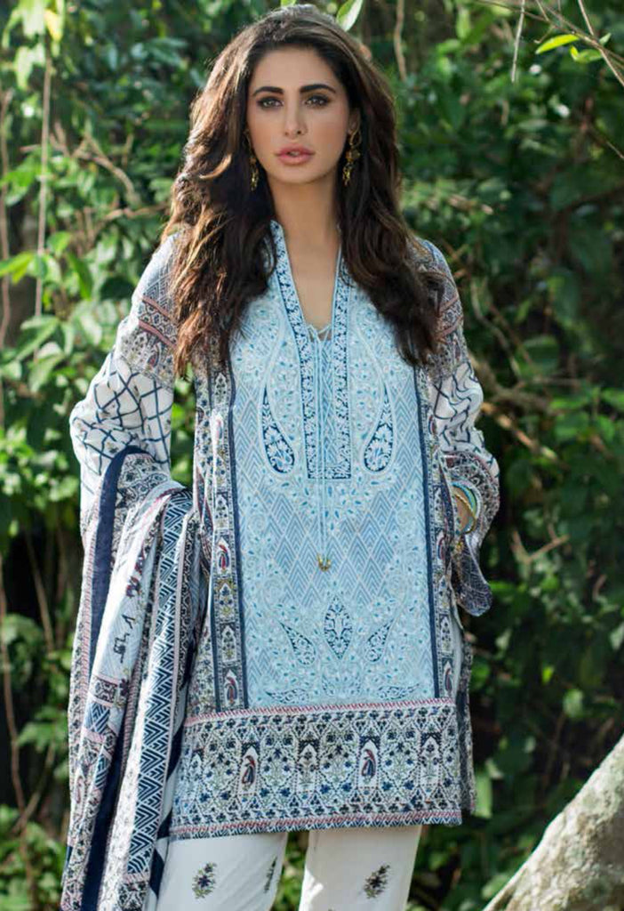 Shehla Chatoor Luxury Lawn Collection SS '16 – 1B - YourLibaas  - 1