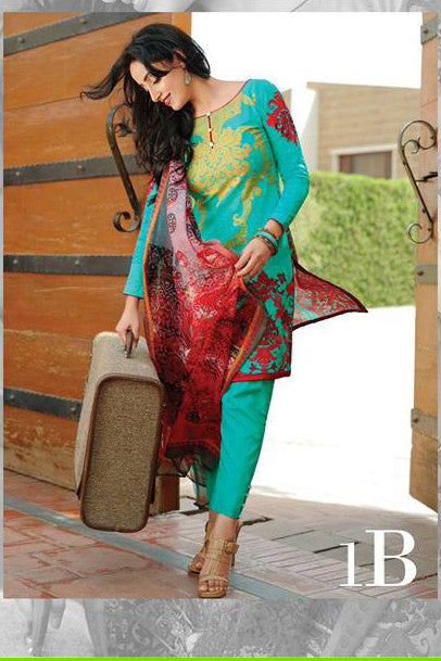 Ayesha Zara Eid Collection By Al Zohaib – 1B - YourLibaas  - 1