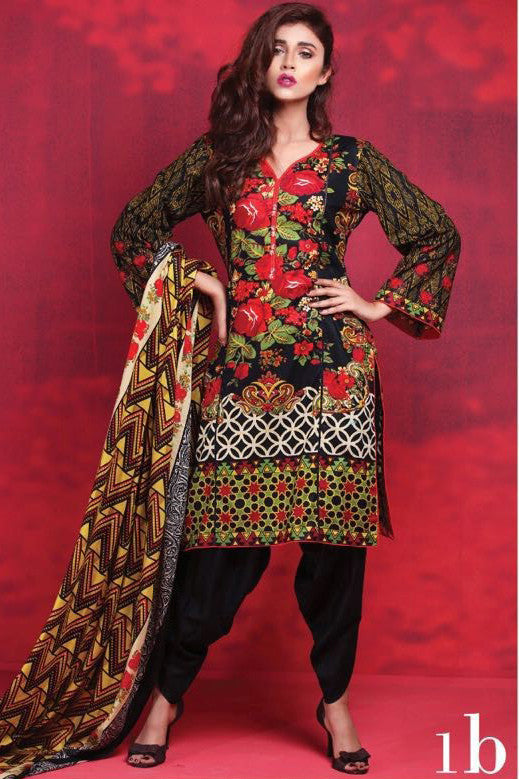 Anum Cambric Collection '16 – 01B - YourLibaas