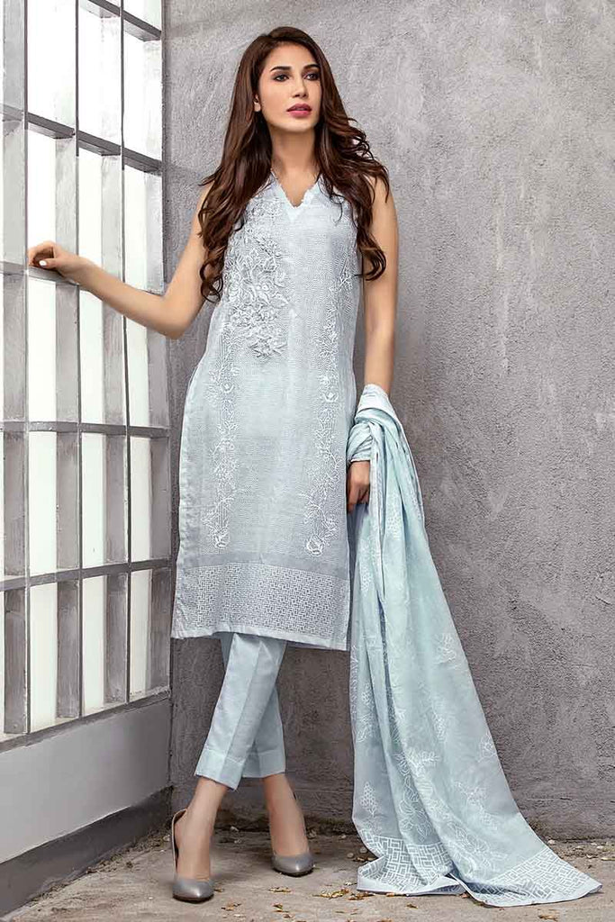 Gul Ahmed Summer Essential Collection 2019 – 3 PC CL-614 A