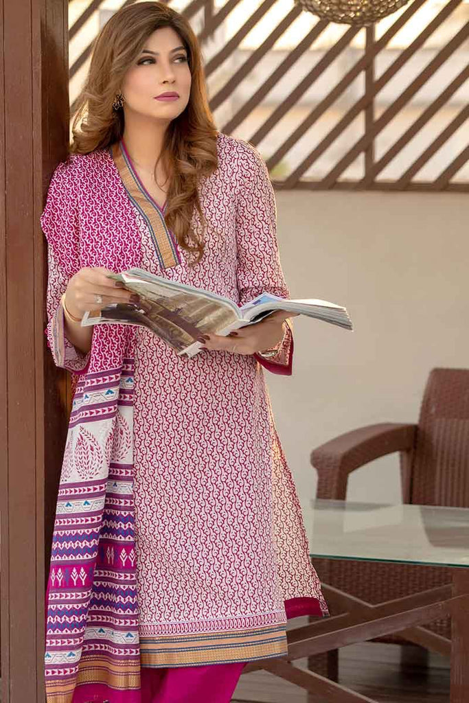 Gul Ahmed Summer Essential Collection 2019 – 2 PC TL-178 A