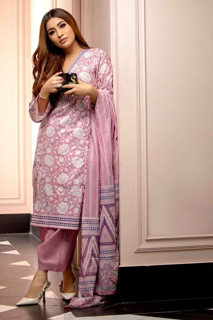 Gul Ahmed Summer Essential Collection 2019 – 3 PC CL-477 B